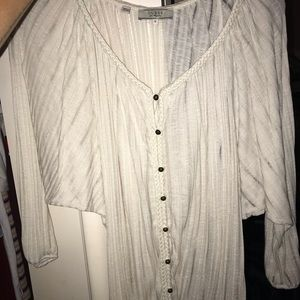 Guess Tops - GUESS flowy hippie blouse top